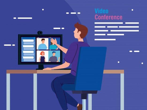 Apa etika video conference
