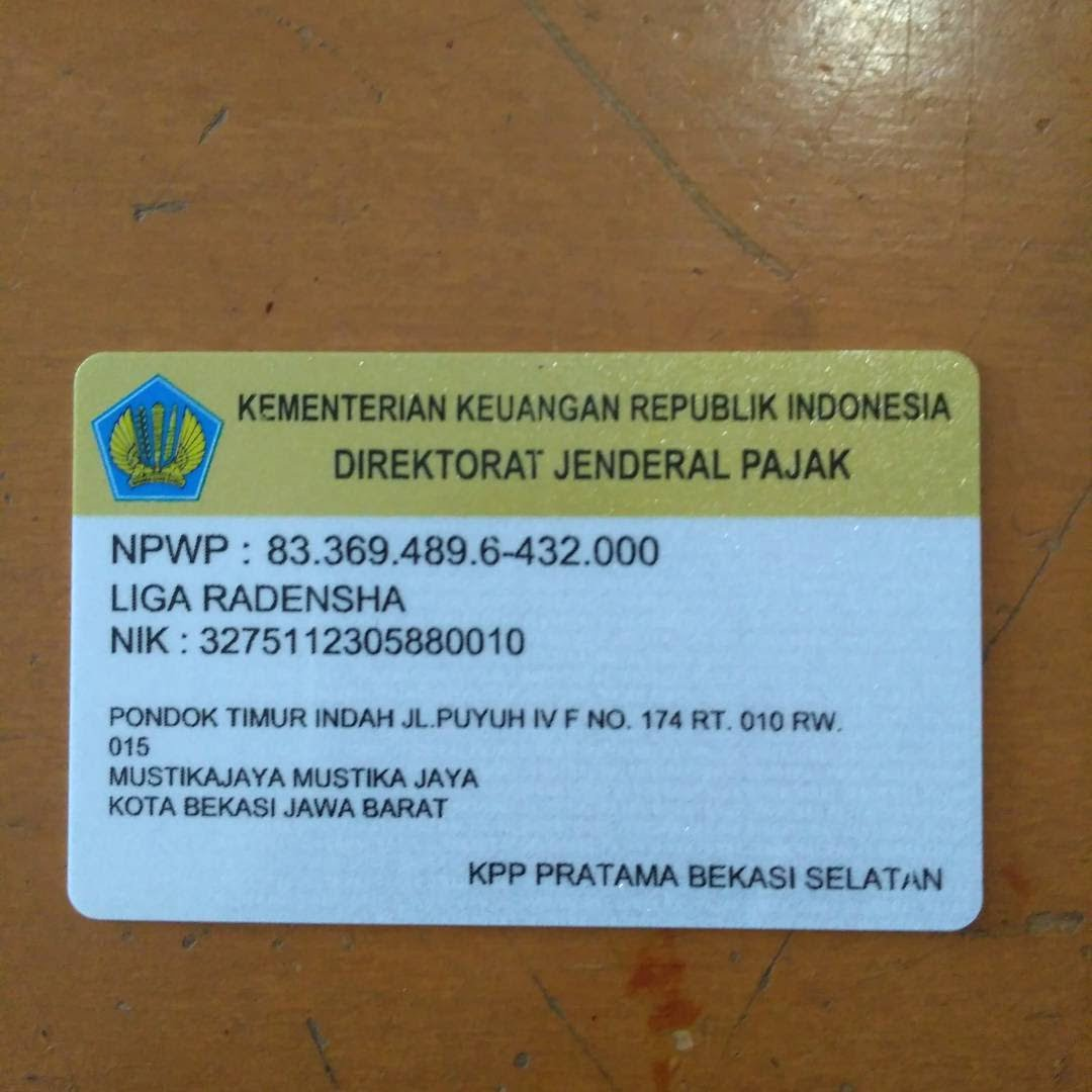 Pengertian NPWP