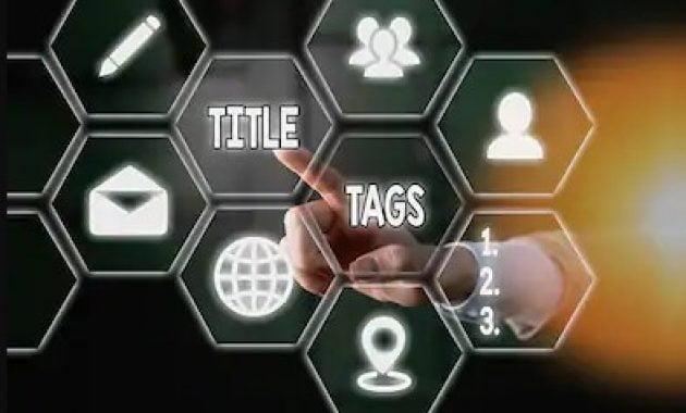 Cara menambahkan tags title