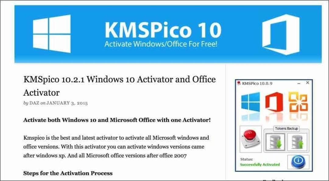 Cara Aktivasi Windows 10 Offline