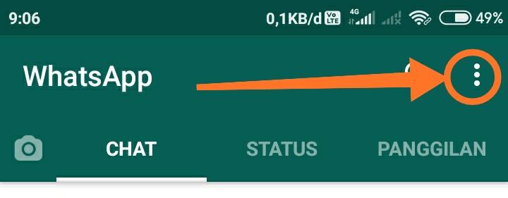 Cara membuat WhatsApp dark mode 8