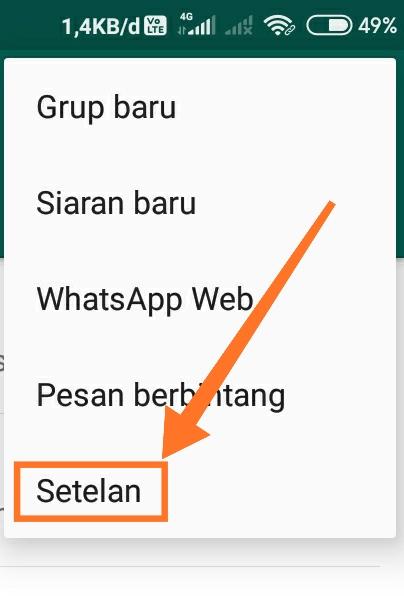 Cara membuat WhatsApp dark mode 7