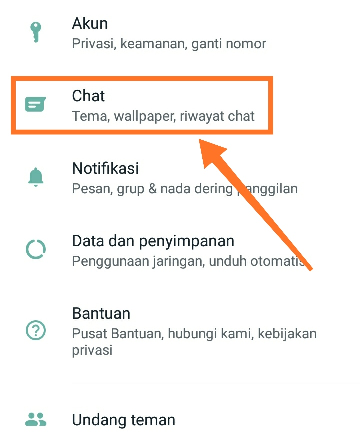 Cara membuat WhatsApp dark mode 6