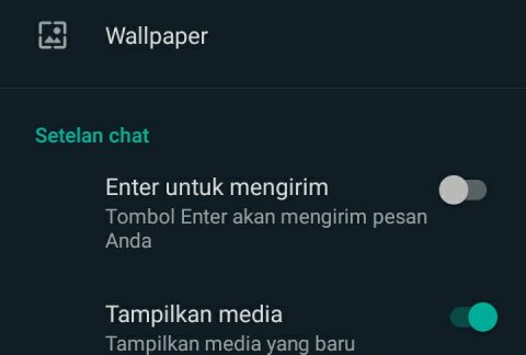 Cara membuat WhatsApp dark mode 2