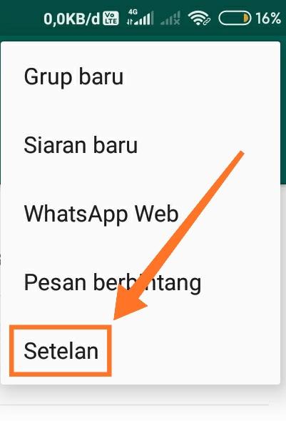 Cara mengganti background WhatsApp 1