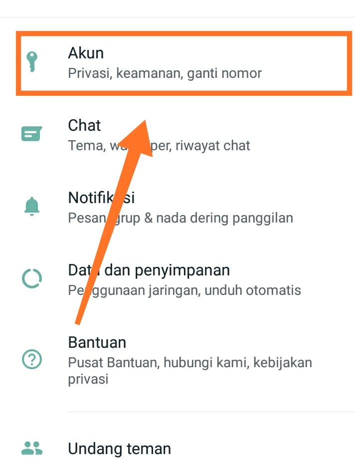 cara mengganti nomor whatsapp 2