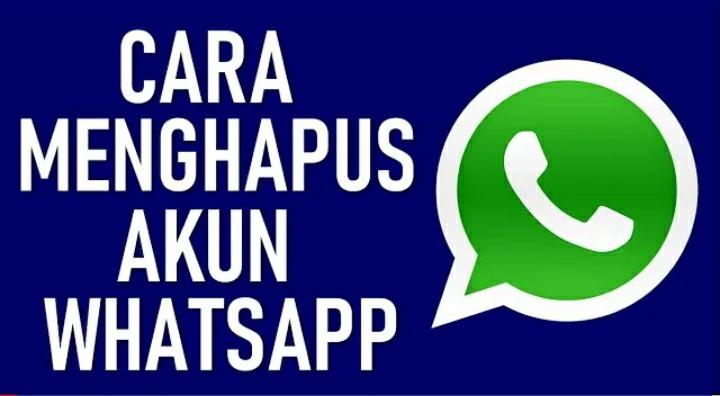 Cara menghapus akun Whatsapp 8