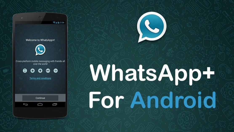 cara instal whatsapp plus