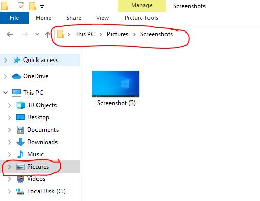 cara mengambil screenshot di laptop