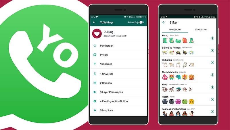 cara update yowhatsapp