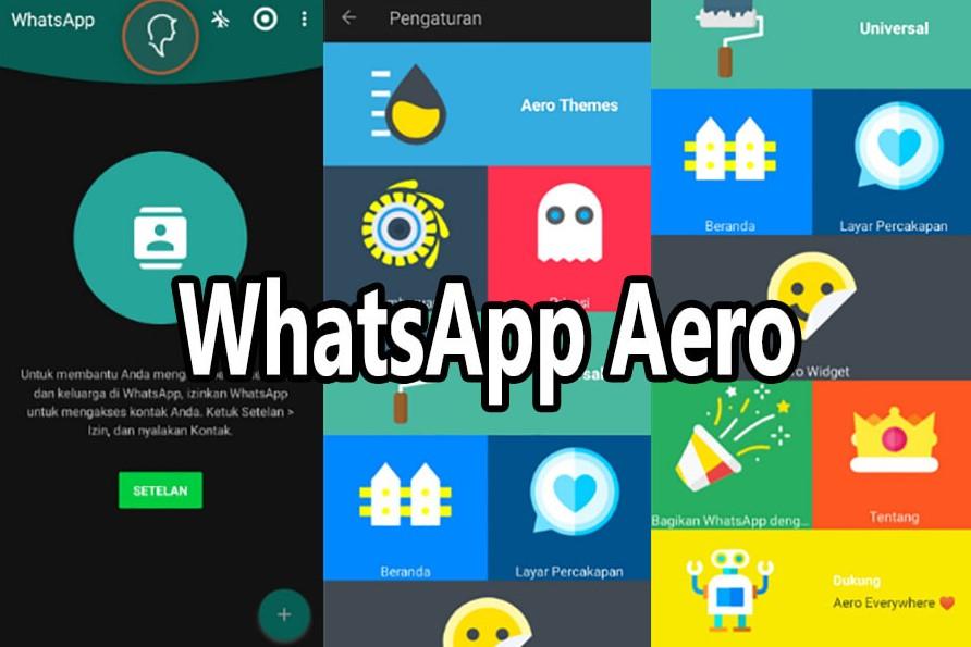 Sekilas Whatsapp Aero