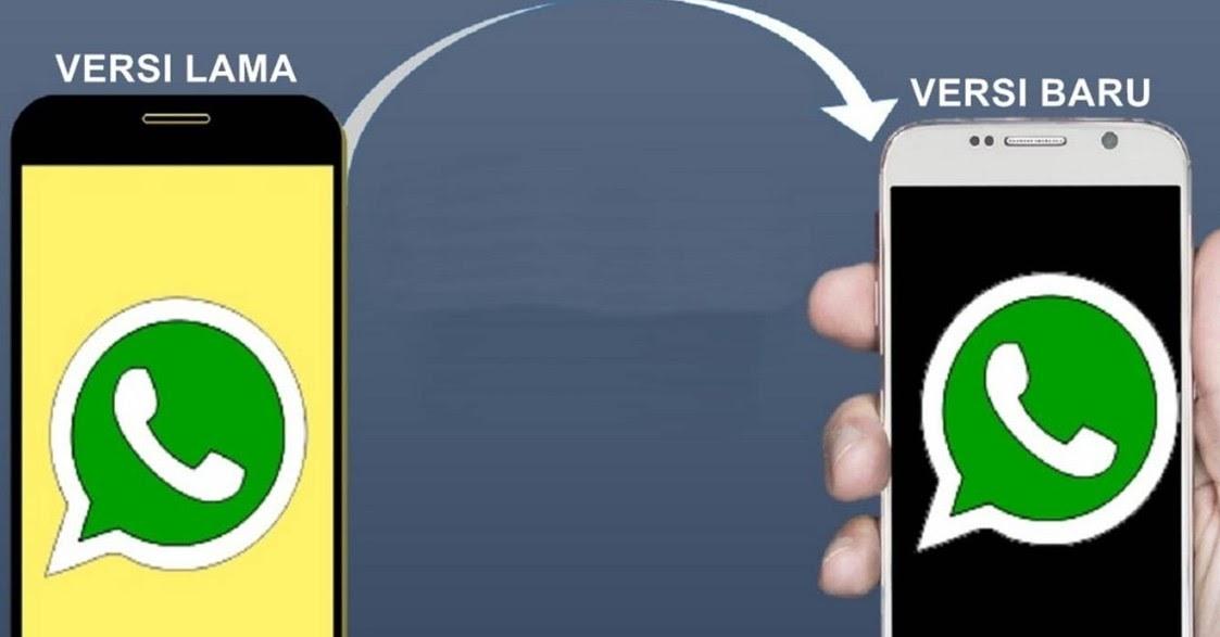 whatsapp versi ori vs versi mod