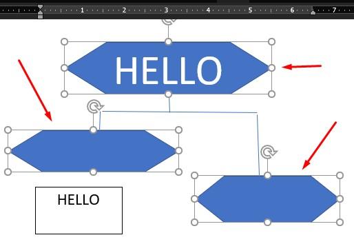 cara membuat flowchart di word memberi format 1