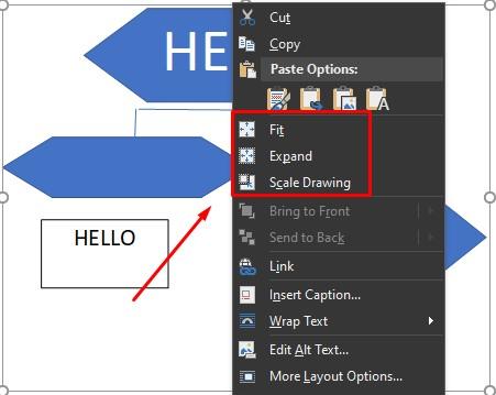 cara membuat flowchart di word mengatur ukuran drawing 2