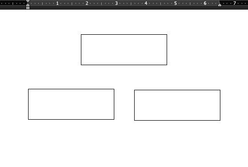 cara membuat struktur organisasi di word shapes 2