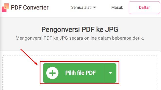freepdfconvert cara mengubah pdf ke jpg 1