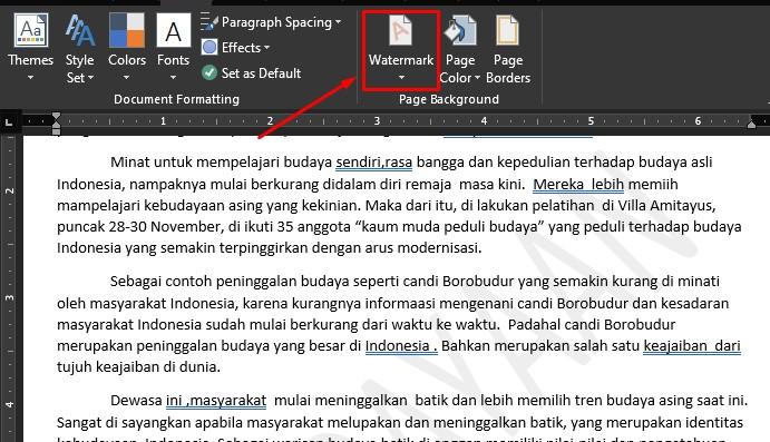 menghilangkan watermark di word 4