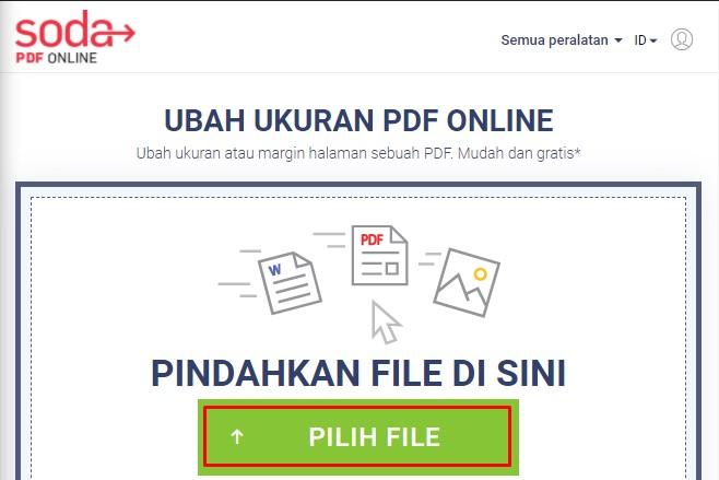 sodapdf memperbesar ukuran pdf 1